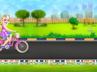 Fairy Princess Bicycle Fiasco - iOS Android Gameplay Trailer By Gameiva
