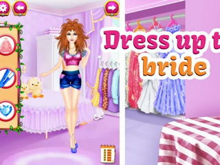 Princess Wedding Flower Girl - Wedding Girl Games By Gameiva