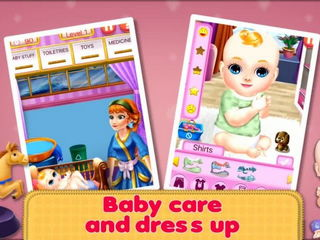 Sweet Baby Girls Super Mom - Sweet Baby Super Mom Games By Gameiva
