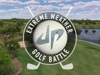 Extreme Weather Golf Battle - Dude Perfect
