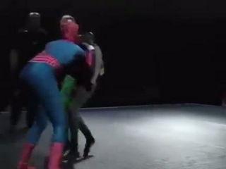 Spiderman vs Batman & Robin