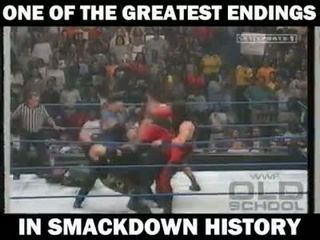 Best Smackdown ending ever!