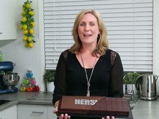 GIANT HERSHEY BAR CAKE - Make a Huge Chocolate Bar Cake