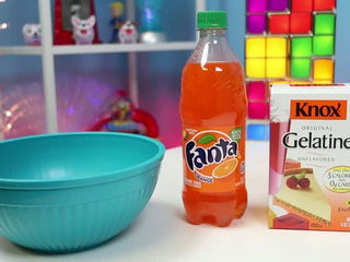 How to Make GIANT Fanta Jelly Gummy Soda