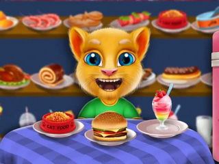 Talking Jack Cat - Talk with cat kids games by Gameiva