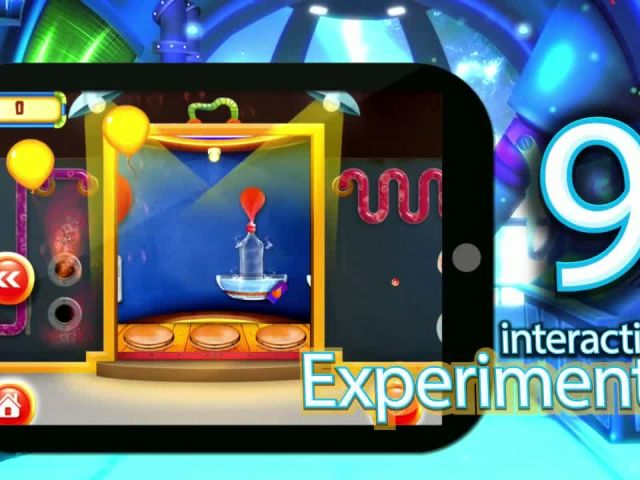 Amazing Science Experiments with Balloons - iOS Android Gameplay Trailer By Gameiva