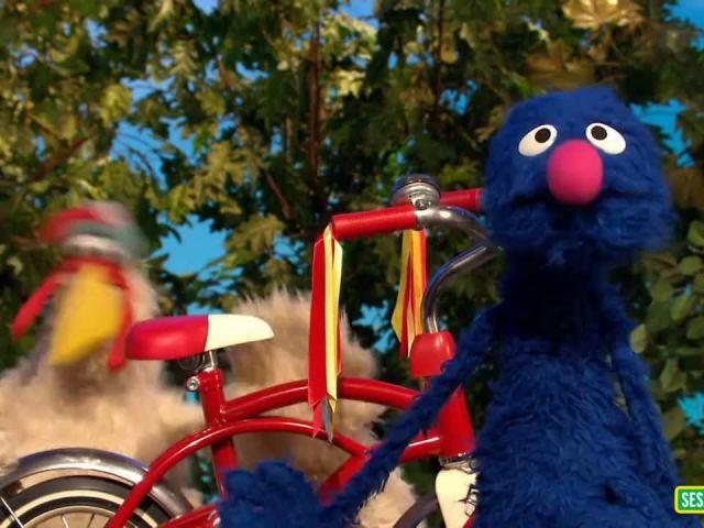 Sesame Street- Bike safety first