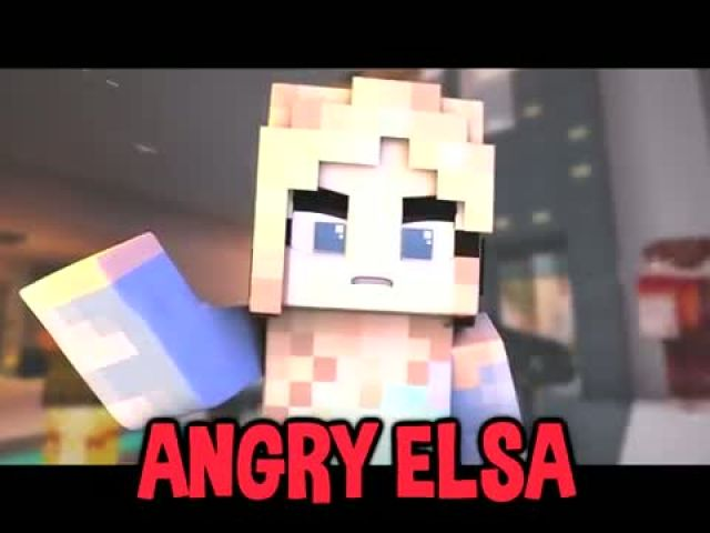 Angry Elsa Minecraft Daycare