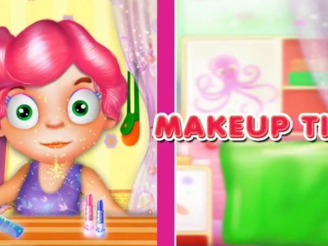 Baby Makeup and Fashion
