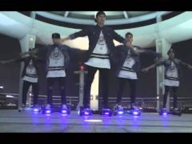 Robin Thicke - Pressure (A Segway Hoverboard Dance Cover)