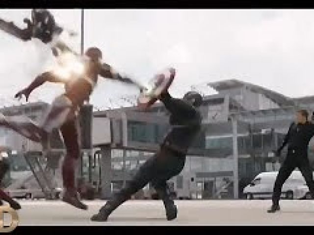 Captain America: Civil War FIGHT SCENES