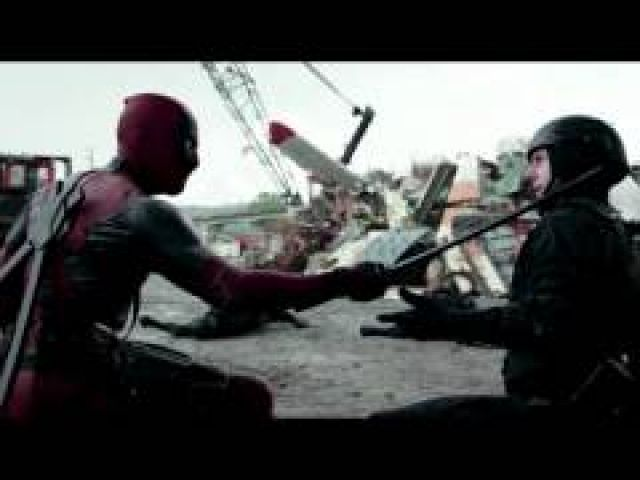 Deadpool - Scrapyard Fight Scene