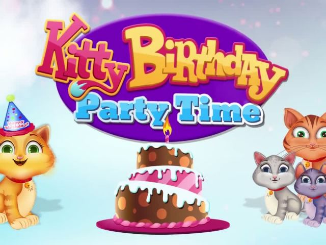 Kitty Birthday Party Time - iOS Android Gameplay Trailer By Gameiva