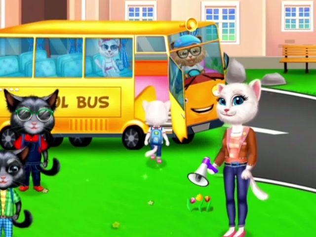 My Little Kitty School Trip - My School Trip Games By Gameiva