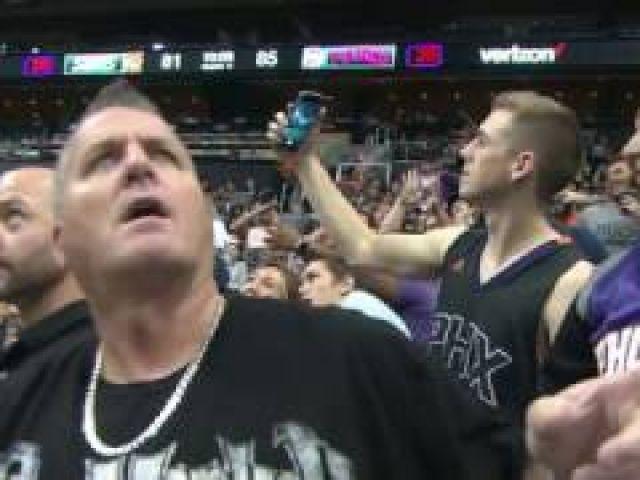 Phoenix Suns Fans Mannequin Challenge
