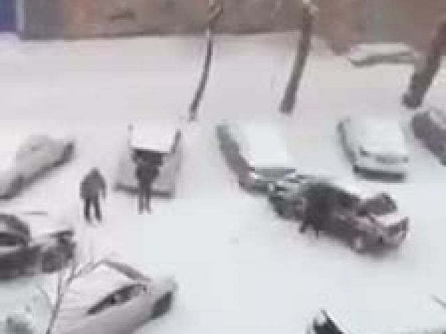Funny Russian Winter