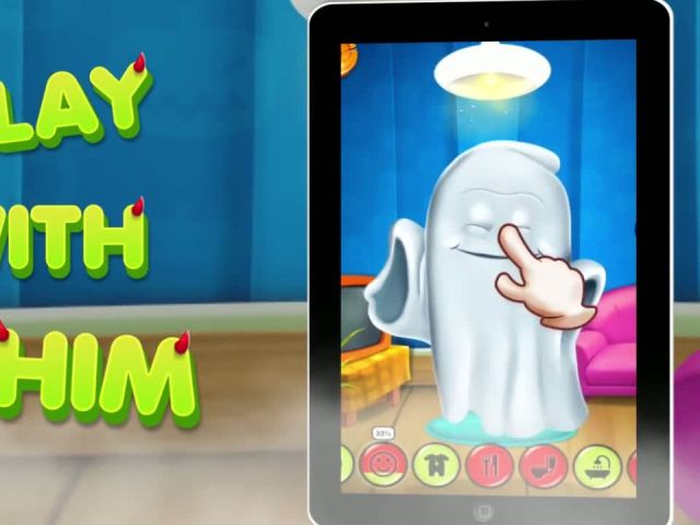 Talking Halloween Ghost - Talking Baby Games By Gameiva