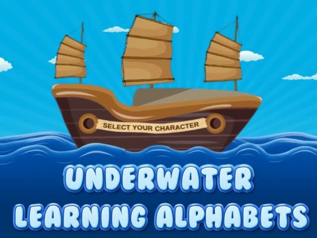 UnderWater ABC For Kids - ABC Learning Games By Gameiva
