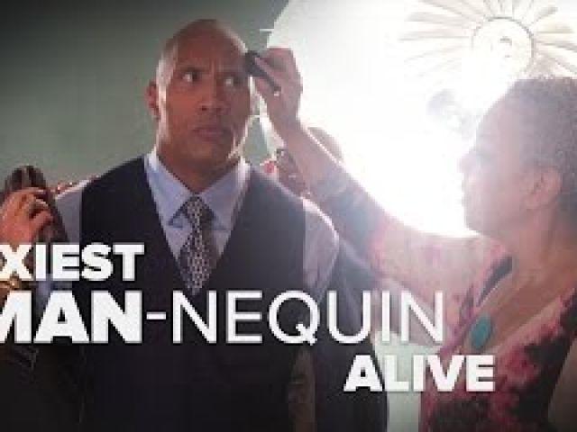 The Rock's Hottest Man Alive Mannequin Challenge