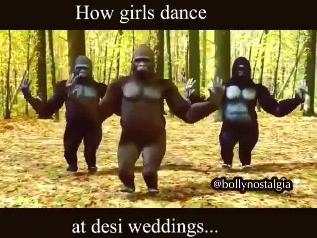 Girls in a marriage ceremony be like!
