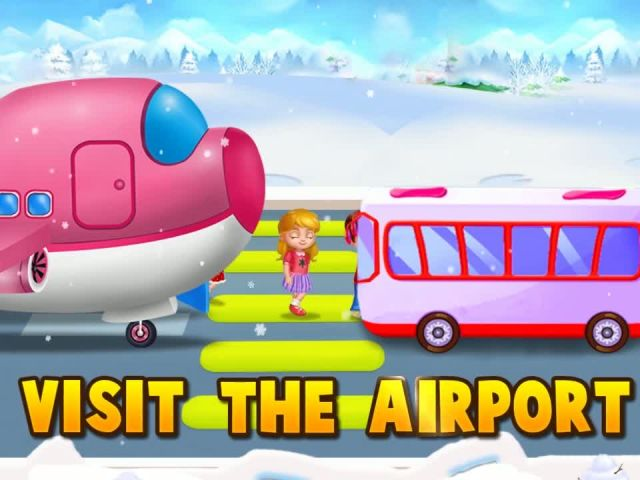 My Little Santa's Airport - Santa's Airport Games By Gameiva