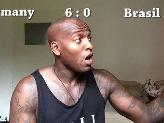 Germany vs Brasil Match Reaction video