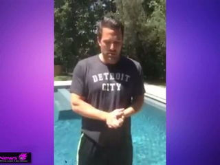 Ben Affleck - Ice Bucket Challenge - Jimmy Kimmel
