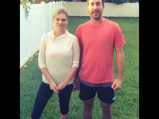 Kate Upton and Justin Verlander ALS Ice Bucket Challenge