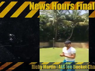 Ricky Martin ALS Ice Bucket Challenge Ricky Martin ALS Ice Bucket Challenge