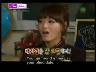 Simon D & MissA Min Acting Scene in Oh My School