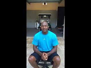 Michael Jordan - ALS Ice Bucket Challenge