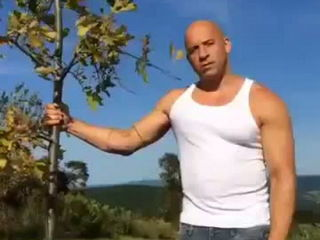 Vin Diesel ALS Ice Bucket Challenge