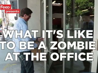 Signs You're The Zombie At The Office