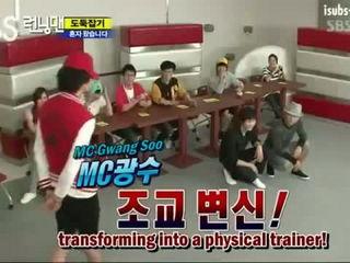 Kwangsoo bullies Gary & Joongki funny Running Man cut [eng]