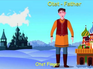 Russian Finger Family Nursery Rhyme - Animation Songs For Children