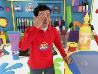 Swollen Eye - Art Attack Sneak Peek - Disney Channel Asia