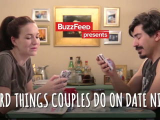 Weird Things Couples Do On Date Night