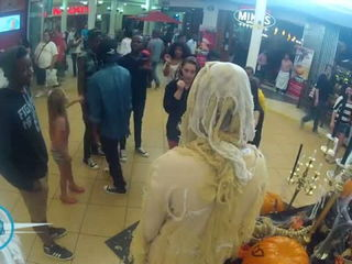 Northgate Shopping Center - Trick and Treat Prank