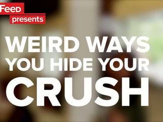 6 Weird Ways You Hide Your Crush