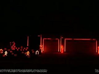 Halloween Light Show 2014 - Fireball (Pitbull ft John Ryan)