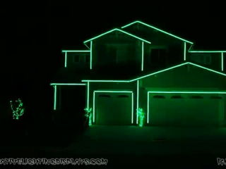 Halloween Light Show 2014 - Jump Around (House of Pain)