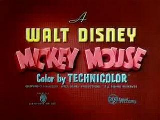 Mickey Mouse - Mickey's Garden - 1935