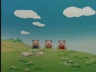 three little pigs chinese mandarin cartoon