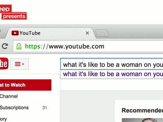 What It's Like To Be A Woman On YouTube