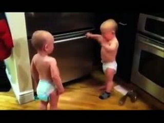 2 Little Funny Boy Talking About Money