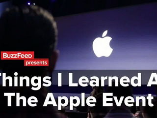 This Is What It's Like To Go To An Apple Event For The First Time