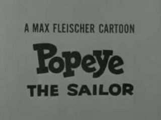 Popeye The Sailor Man Cartoon 137