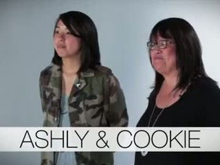 Watch These Asian Moms And Their Adult Children Imitate Each Other