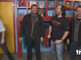 Impractical Jokers - Sideshow Freak Gets Knifed