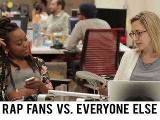 Rap Fans Vs. Everyone Else